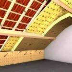 Утепление крыши деревянного дома