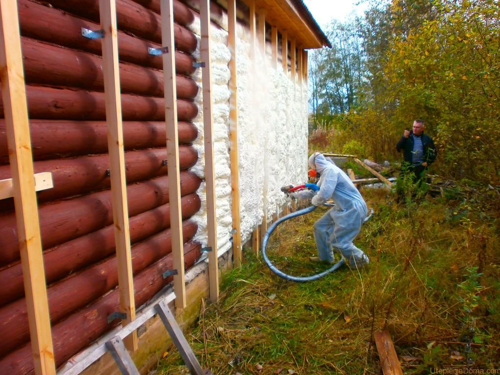 Утепление деревянного дома в частном доме 122