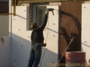 Утепление фасадов пенополистиролом своими руками