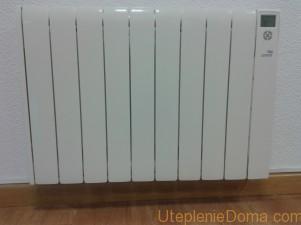 Электрические батареи отопления для дач