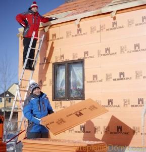 Технология утепления деревянного дома пеноплексом
