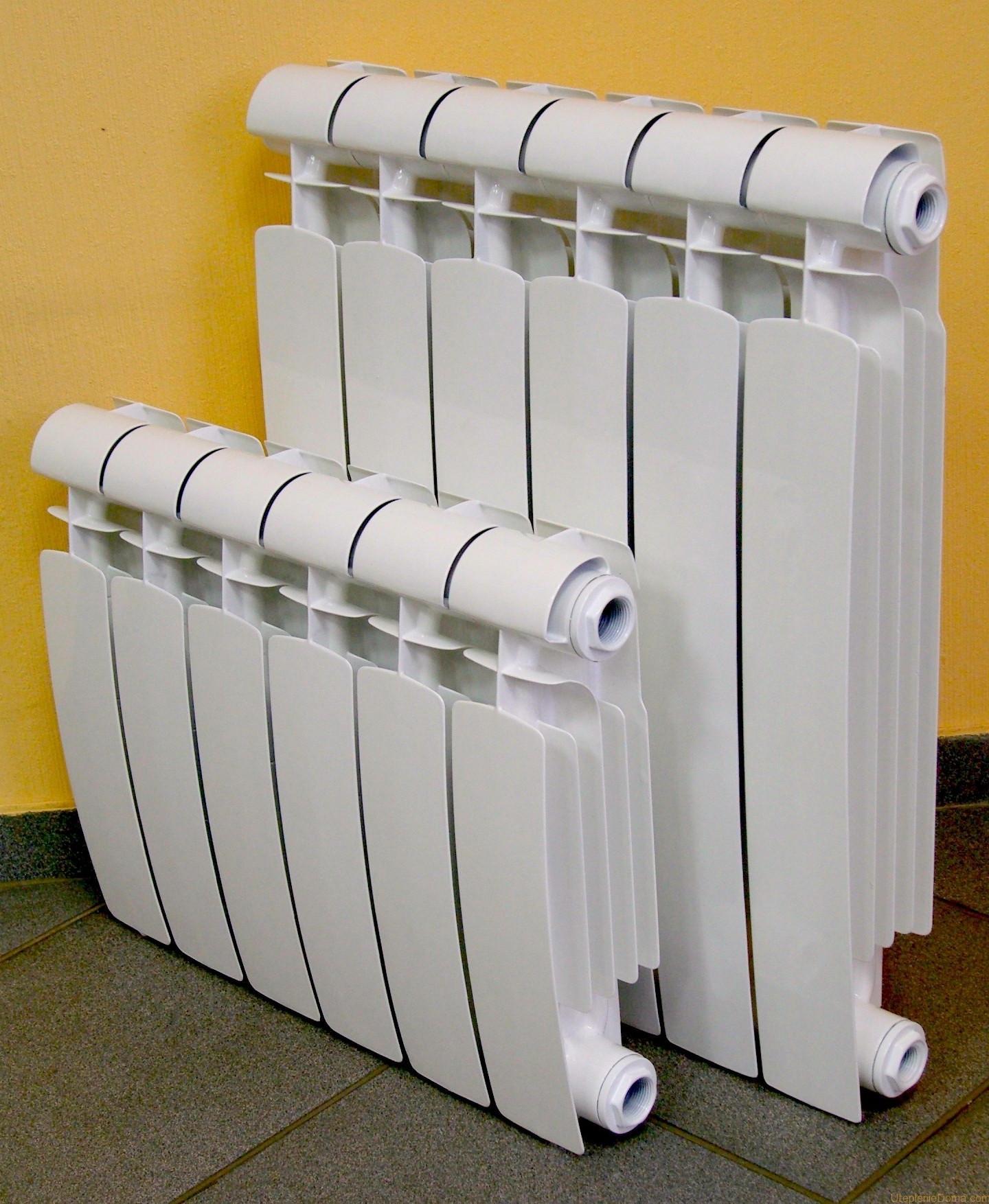 Биметаллические радиаторы отопления как выбрать