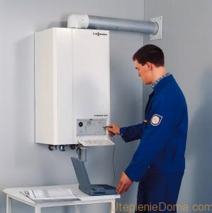 Установка газовых котлов отопления