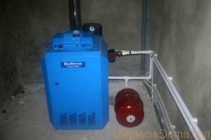 Газовое отопление дачного дома