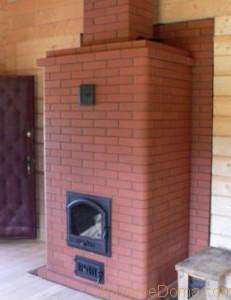 Печь для обогрева дачного дома