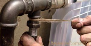 монтаж отопления из стальных труб