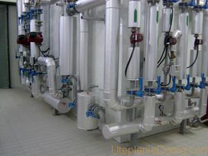 потери тепла трубами системы отопления