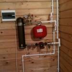 Подсоединение электрокотла к системе отопления