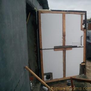 чем утеплить стены в гараже