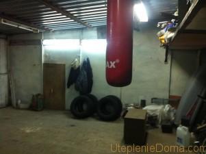 утепление гаража из профнастила