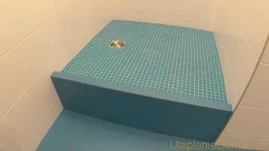 Гидроизоляция стен душевых наливной пол быстротвердеющий 20 кг
