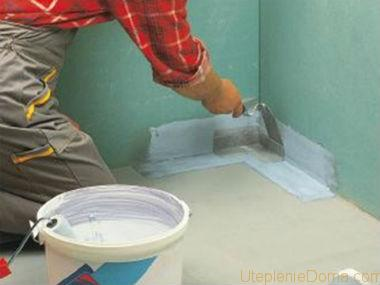 как делать гидроизоляцию в ванной