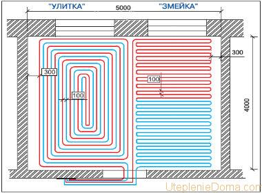 Программа расчета теплого водяного пола