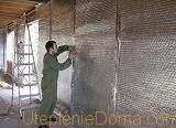 фольгированного утеплителя для стен