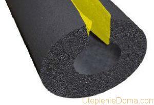 K-FLEX – это теплоизоляция, которая изготовлена из вспененного полимера