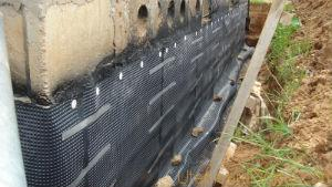 Структура бетона пористая, чем-то напоминает губку для купания