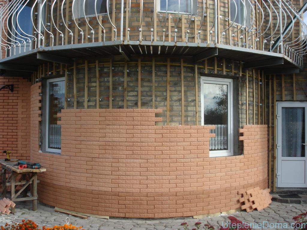 Утепление кирпичного дома пенопластом своими руками