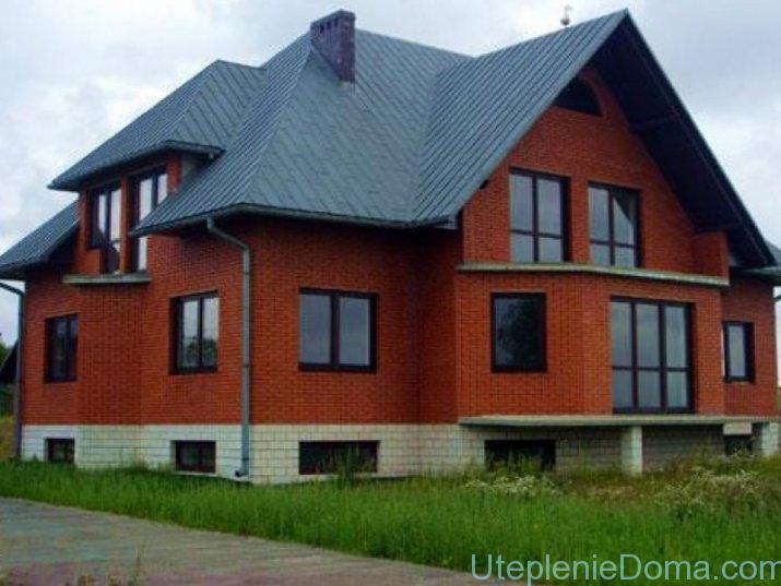 Утеплить дом из кирпича