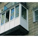 Остекление и утепление балкона фото