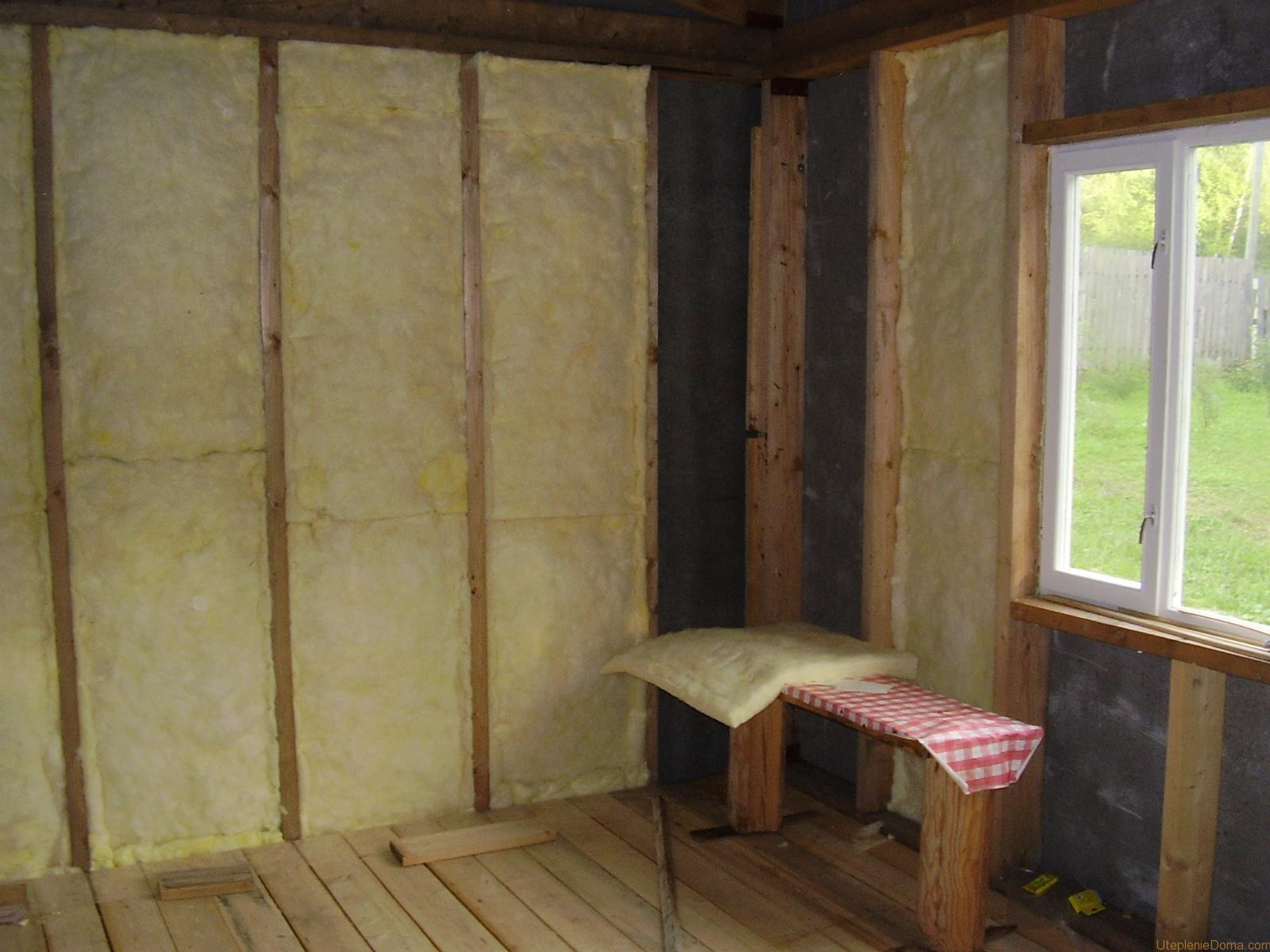 Как утеплить частный дом изнутри своими руками фото 146