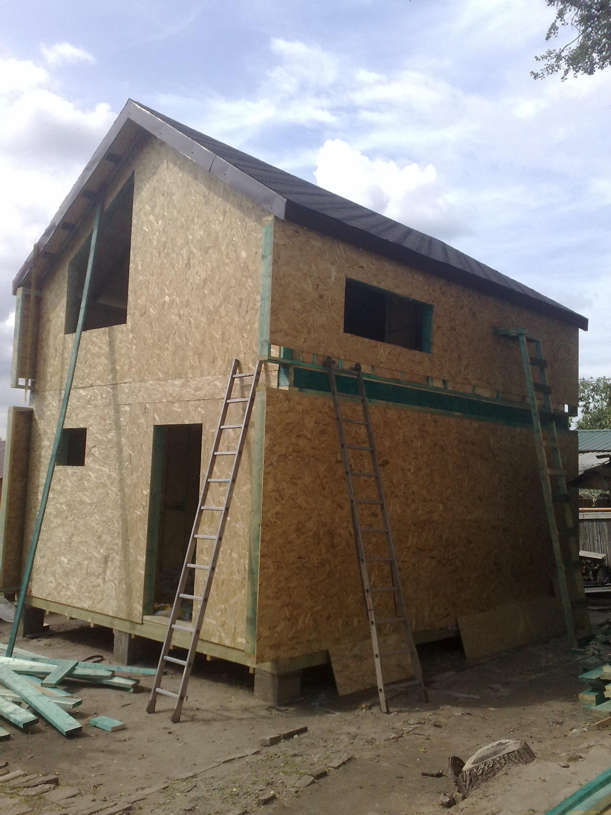 Утепление щитового дома снаружи пенопластом своими руками фото 38