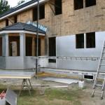 Утепление стен деревянного дома снаружи