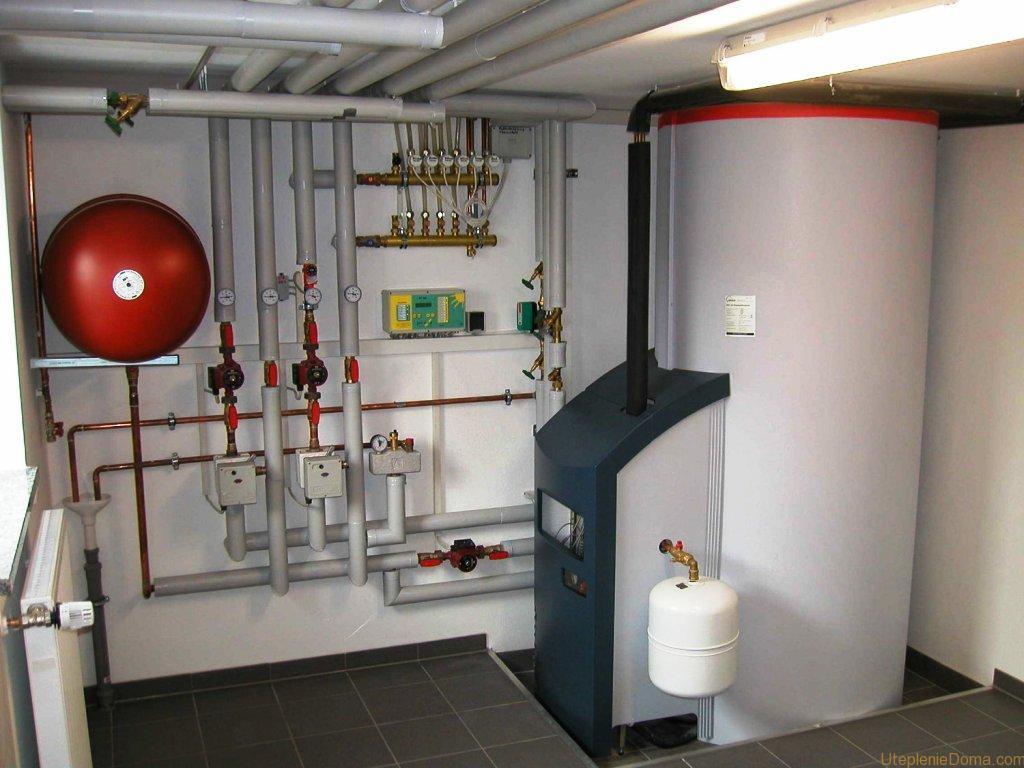Бытовые газовые котлы отопления напольные