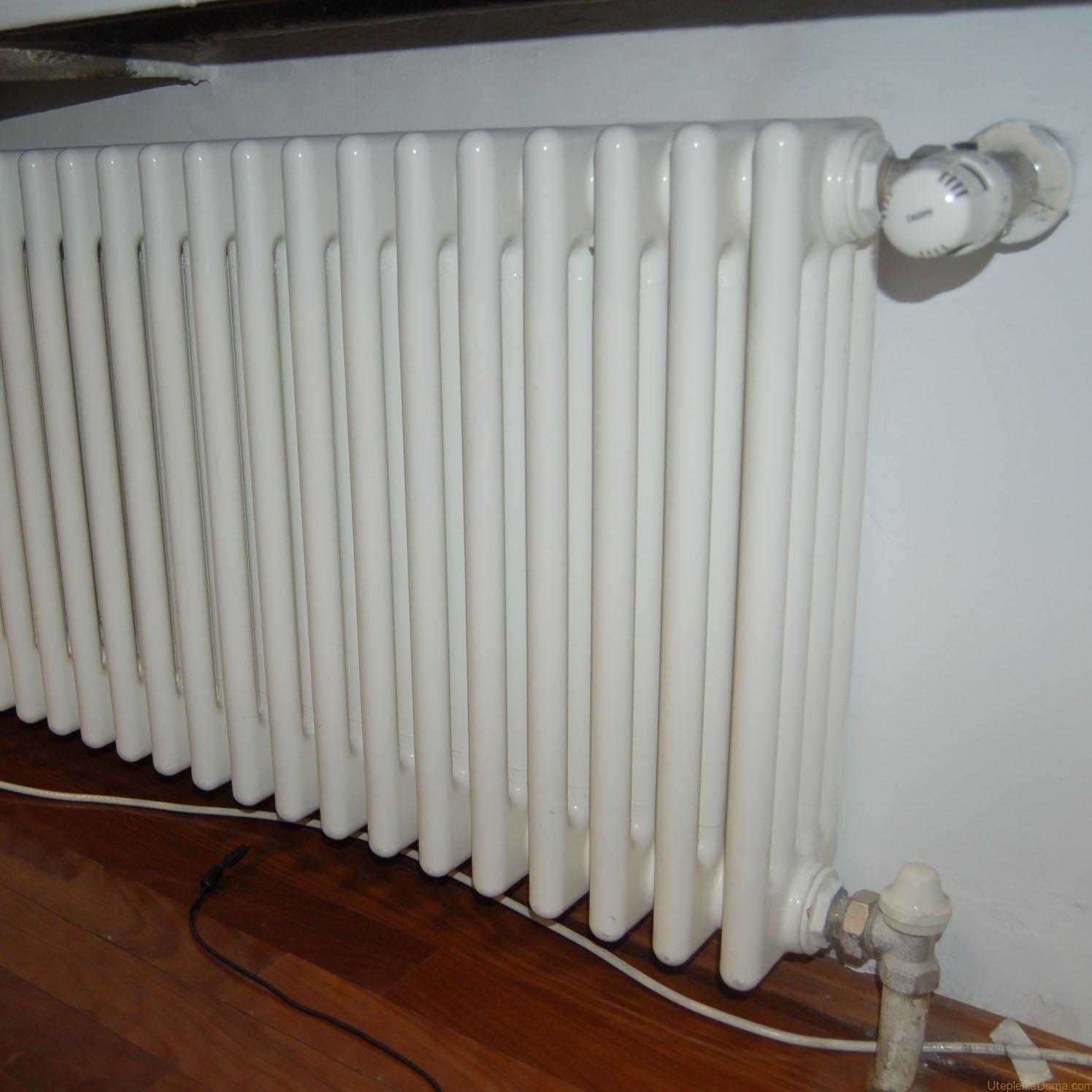 Регулировка батарей отопления