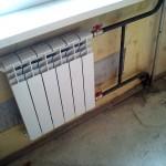 Замена батарей отопления