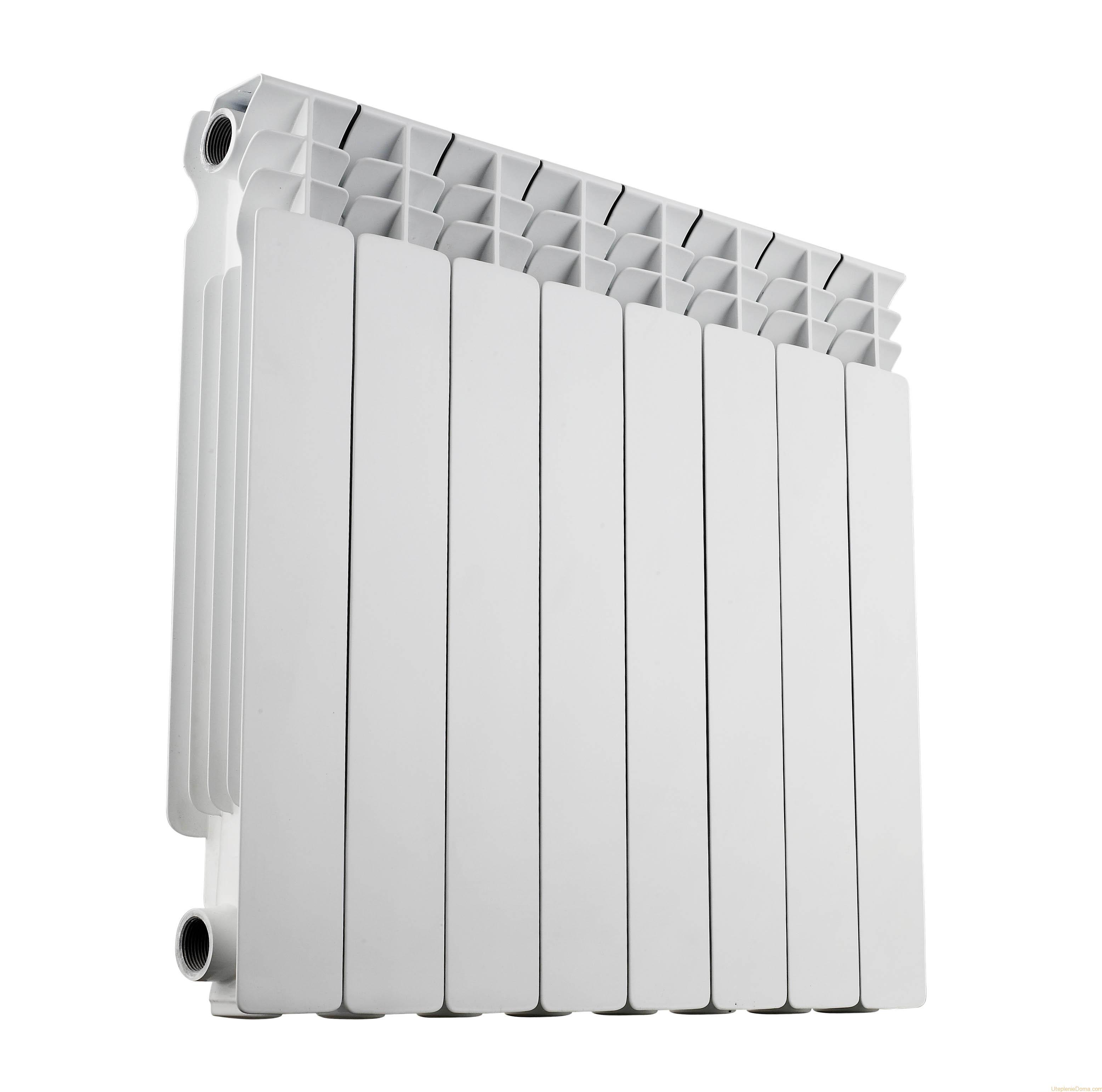 Биметаллические радиаторы отопления rifar