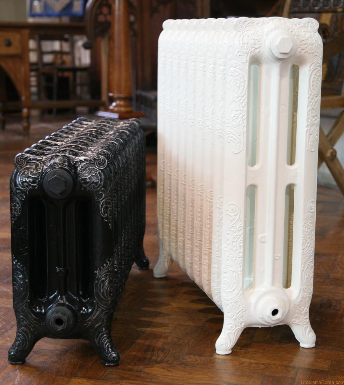 Радиаторы отопления чугун