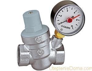 Датчик давления воды в системе отопления