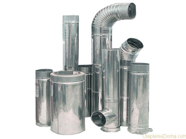 труба для котла отопления