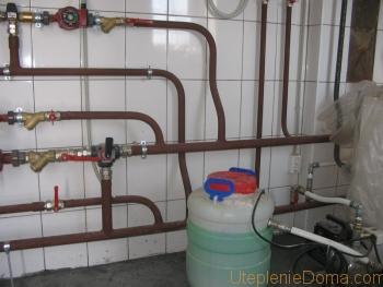 антифриз для котлов отопления