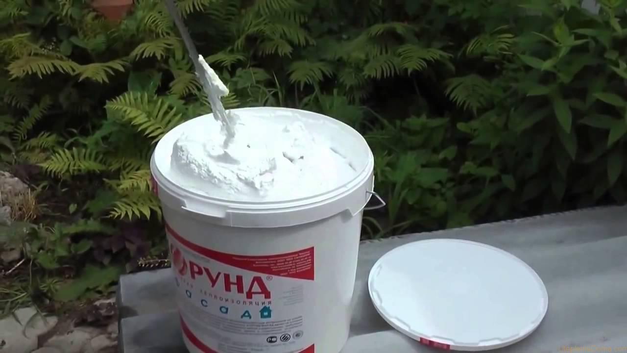 жидкий утеплитель Корунд