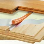 теплый пол под линолеум на деревянный пол