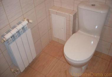 Батарея для ванной комнаты
