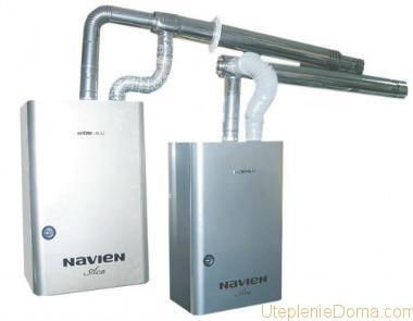 2 Х контурный газовый котел navien