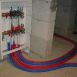 Двухтрубная горизонтальная разводка отопления