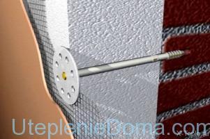 утепление кирпичных стен пенопластом