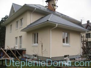 Как утеплить фундамент кирпичного дома снаружи