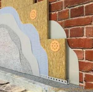 Утепление стен минеральной ватой мокрый способ