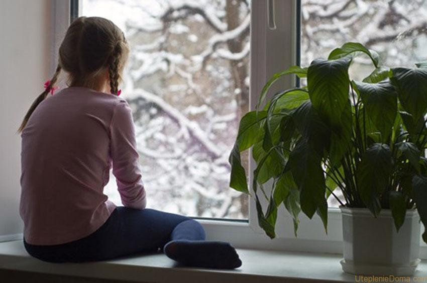Теплоизоляция окна