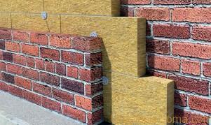 Утепление стен минеральной ватой технология