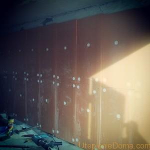 Утепление стен пеноплексом изнутри