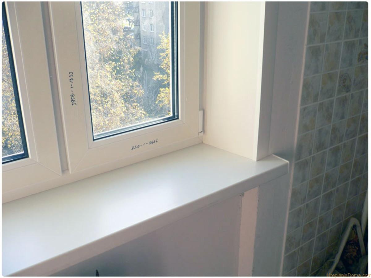 Пластиковые откосы и подоконник на окна своими руками видео