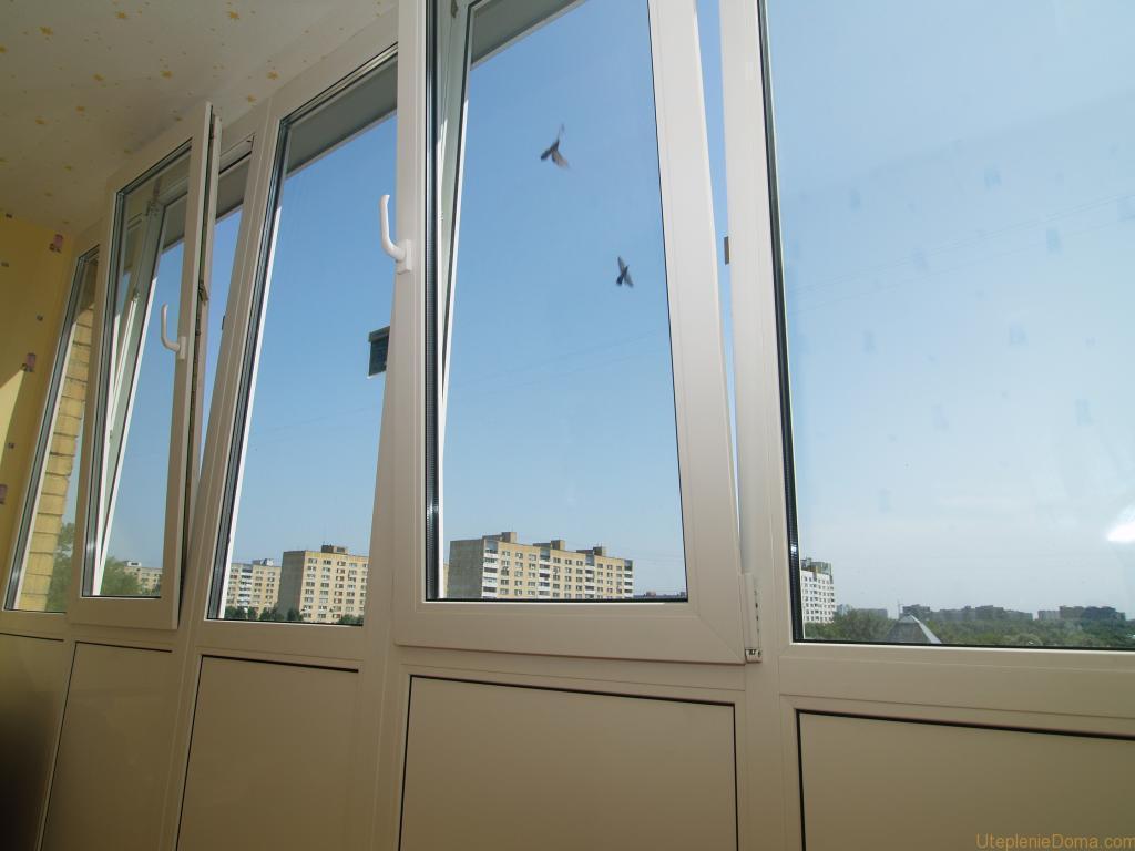 Утепление и остекление балконов технология монтажа.