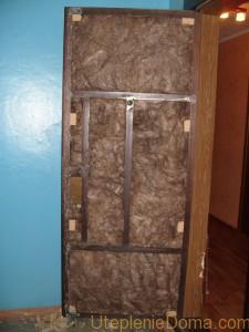 Как утеплить входную дверь самостоятельно