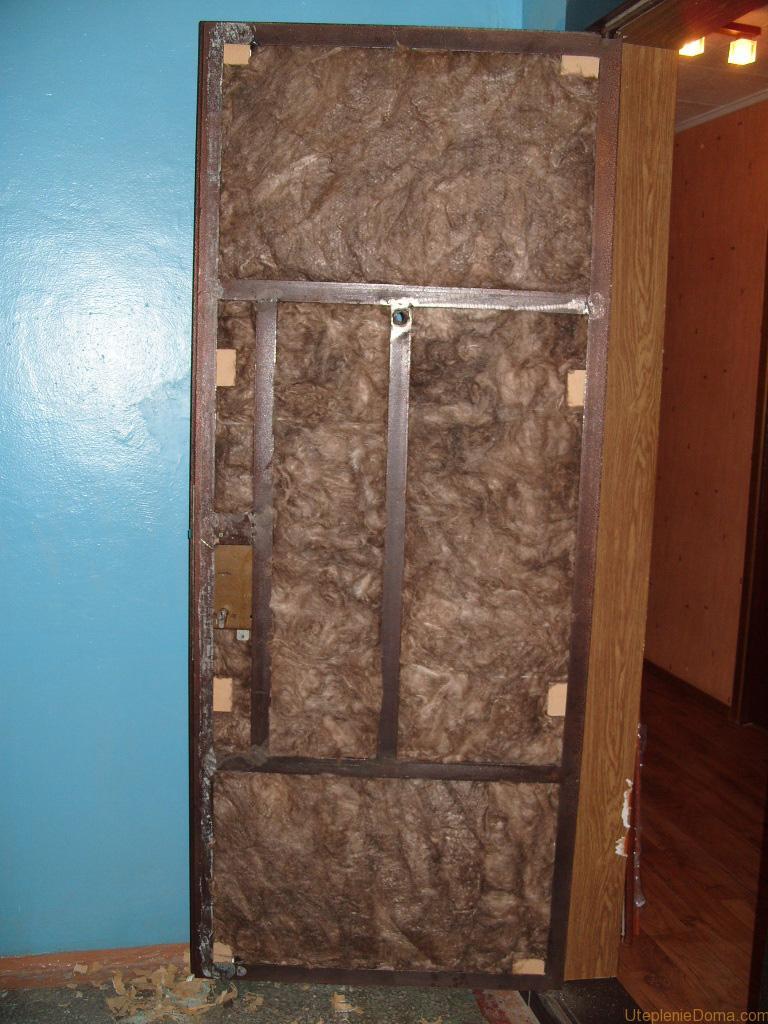 Утеплённая входная дверь своими руками