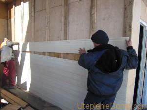Утепление и отделка фасадов сайдингом